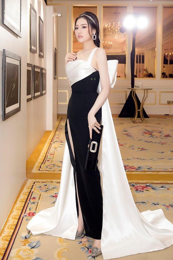 Được khen đẹp hơn sau sinh, Á hậu Tú Anh cuốn hút trong các thiết kế váy sang trọng Ảnh 6