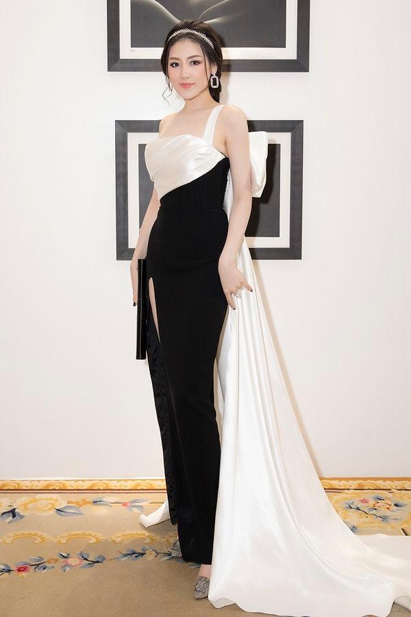 Được khen đẹp hơn sau sinh, Á hậu Tú Anh cuốn hút trong các thiết kế váy sang trọng Ảnh 5
