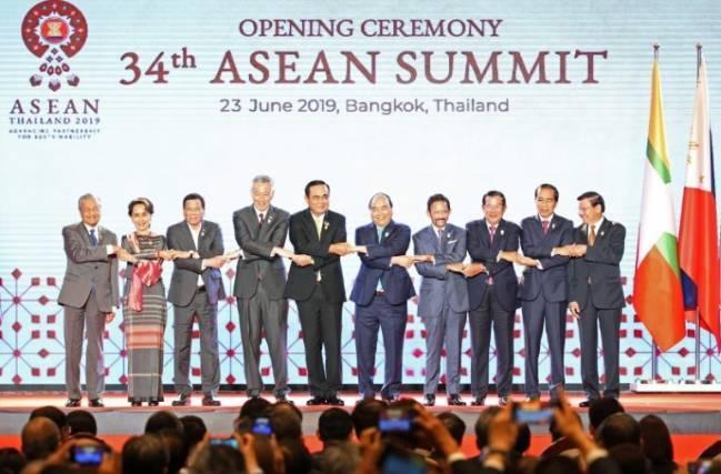 Đông Nam Á hợp tác đối phó căng thẳng Mỹ - Trung Ảnh 1