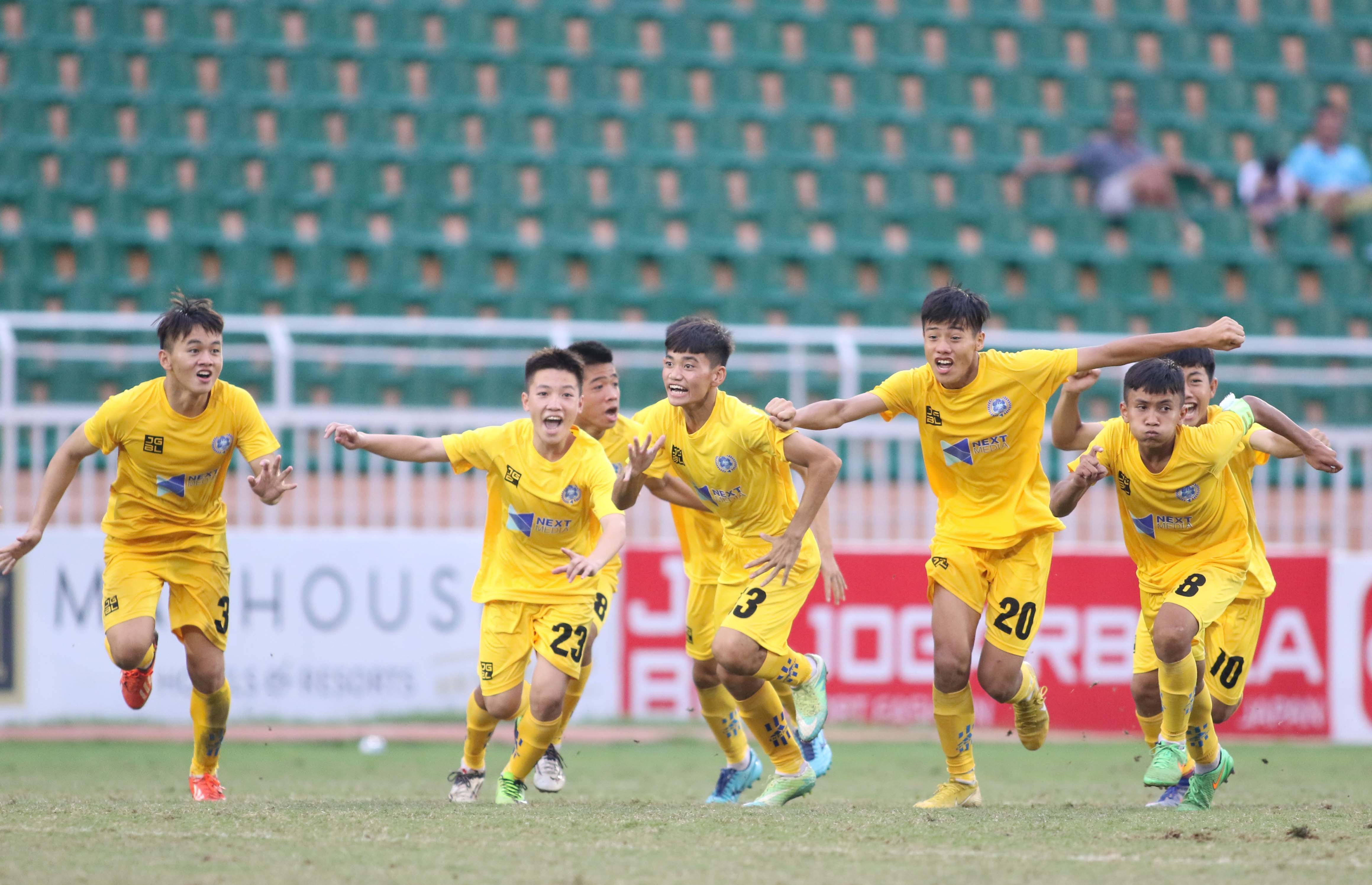 U15 Quốc gia 2019: Vượt qua Viettel, Thanh Hóa vào chung kết gặp SLNA Ảnh 3
