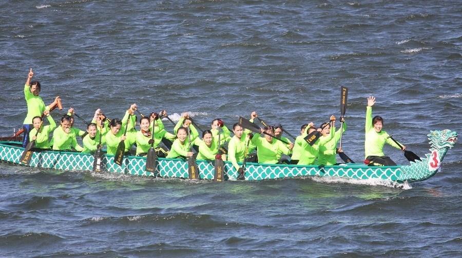 Chủ nhà Quảng Trị giành quán quân giải đua thuyền vô địch quốc gia Ảnh 1