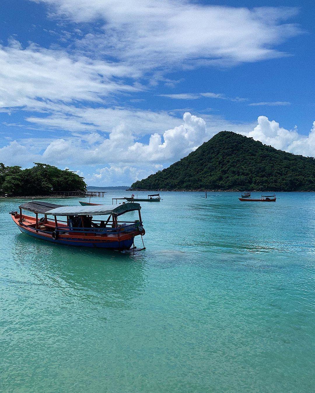 Tới Campuchia, lạc lối giữa thiên đường biển đẹp ngỡ Maldives Ảnh 1