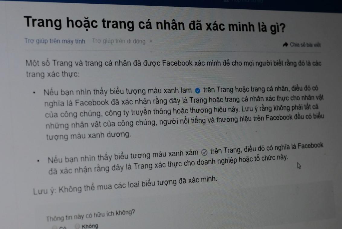 Giả giấy tờ tạo Facebook CLB Becamex Bình Dương bán 65 triệu đồng Ảnh 2