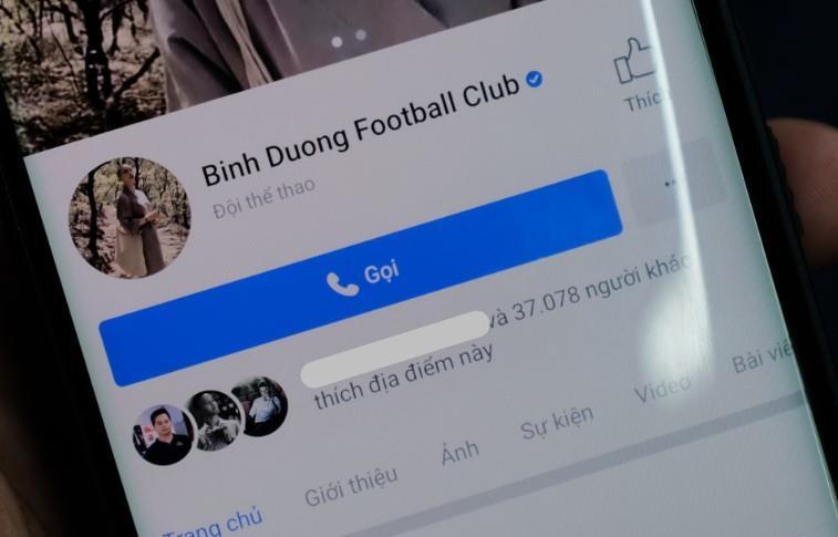 Giả giấy tờ tạo Facebook CLB Becamex Bình Dương bán 65 triệu đồng Ảnh 3