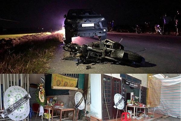 Tai nạn ở Hà Tĩnh, ám ảnh tiếng khóc xé lòng bên những vòng hoa trắng Ảnh 1