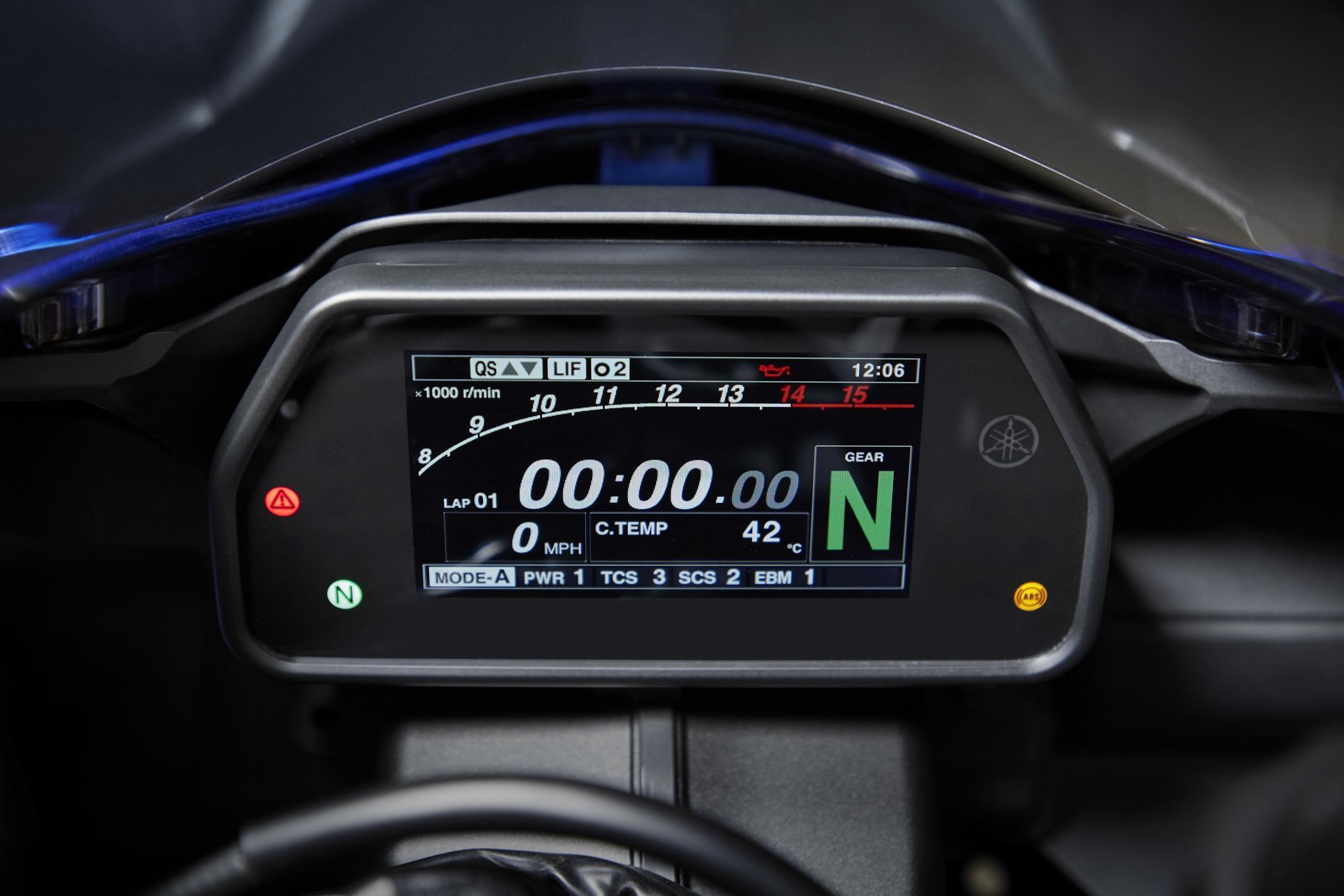 Yamaha YZF-R1 2020 chính thức lộ diện, giống hệt R6 Ảnh 8