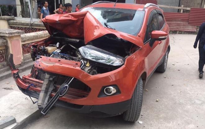Lộ danh tính tài xế Ford Ecosport gây tai nạn rồi bỏ chạy Ảnh 1