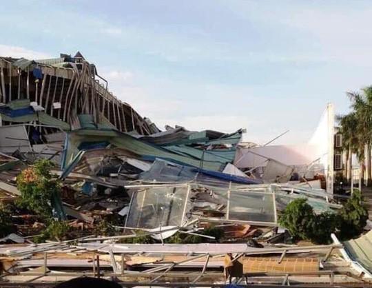 Giông lốc lớn làm đổ sập nhà xưởng của công ty Ivory Việt Nam có 3.000 công nhân Ảnh 2
