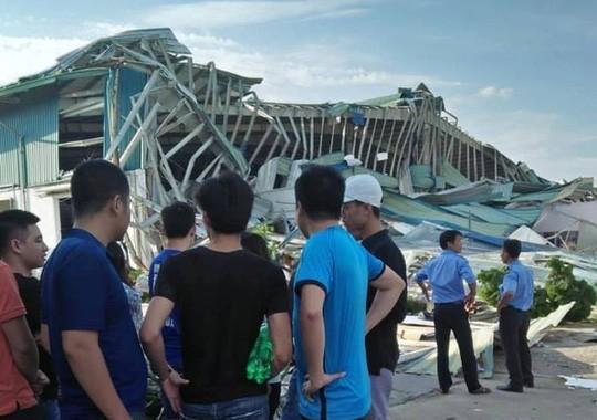Giông lốc lớn làm đổ sập nhà xưởng của công ty Ivory Việt Nam có 3.000 công nhân Ảnh 3