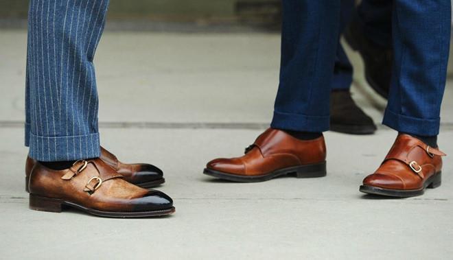 Mặc suit nên phối giày tây như thế nào? Ảnh 1