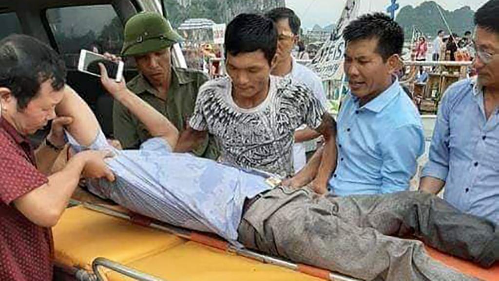 Quảng Ninh: Tàu cá đâm ngang tàu cao tốc chở khách, 3 người bị thương Ảnh 2
