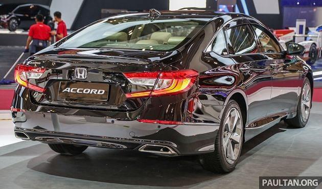 Cận cảnh Honda Accord 2019 đang trình làng tại Indonesia Ảnh 2