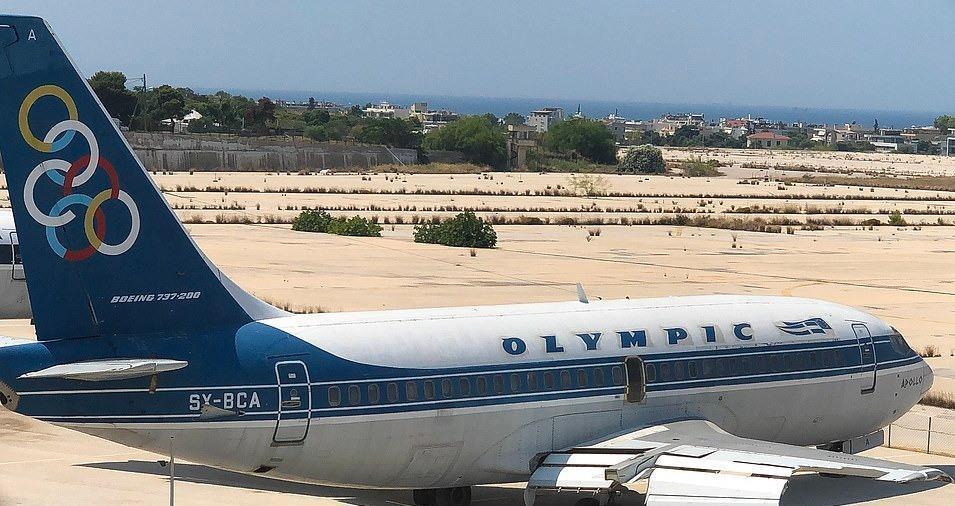 Loạt máy bay khổng lồ gỉ sét trong phi trường bỏ hoang ở Hy Lạp Ảnh 3