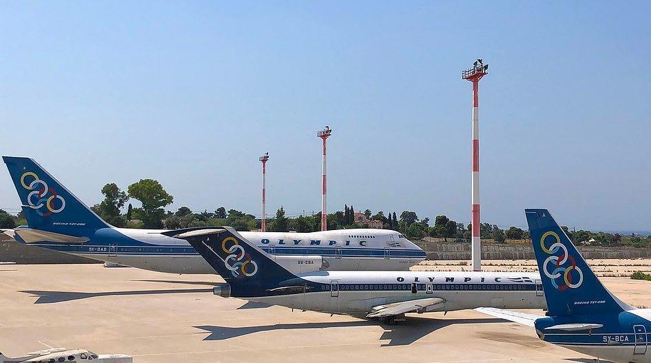 Loạt máy bay khổng lồ gỉ sét trong phi trường bỏ hoang ở Hy Lạp Ảnh 1