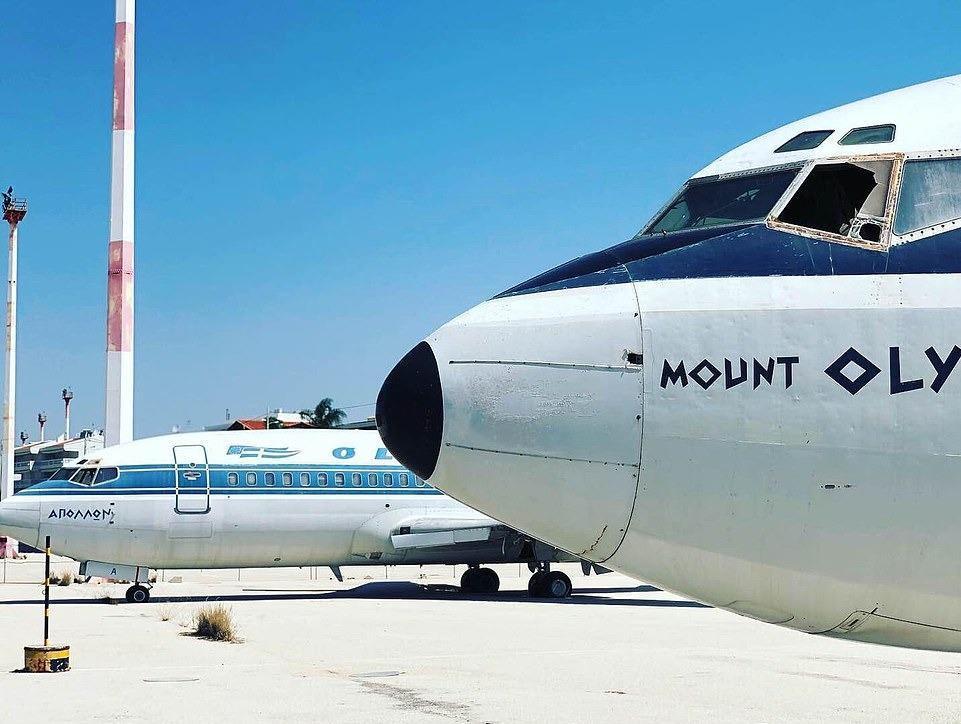 Loạt máy bay khổng lồ gỉ sét trong phi trường bỏ hoang ở Hy Lạp Ảnh 4