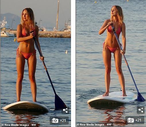 Mỹ nhân áo tắm Anh quốc phô đường cong thể hình 'cực phẩm' với bikini bé xíu Ảnh 5