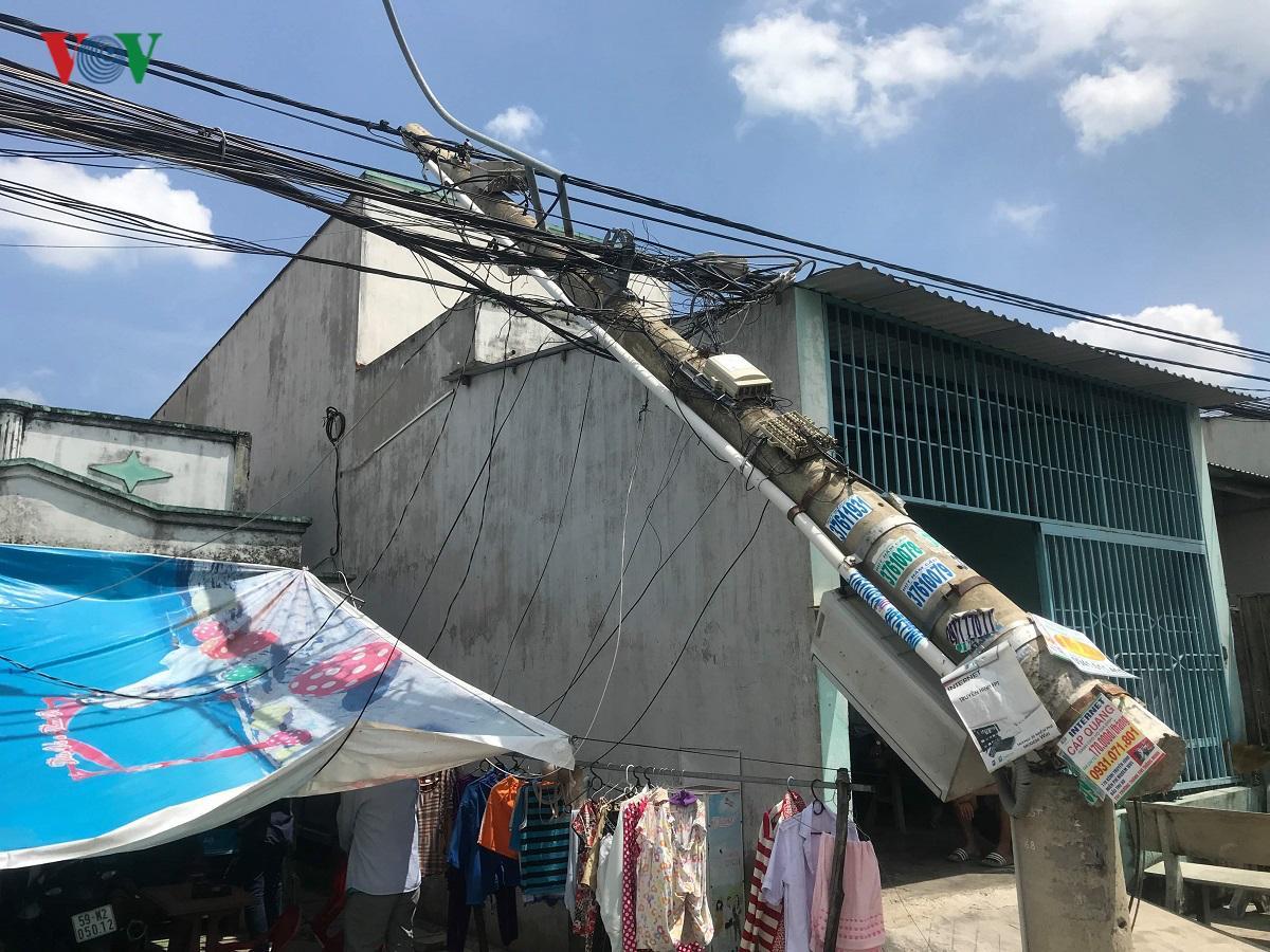 Nguyên nhân ban đầu vụ cần cẩu sập vào nhà dân ở TP HCM Ảnh 2