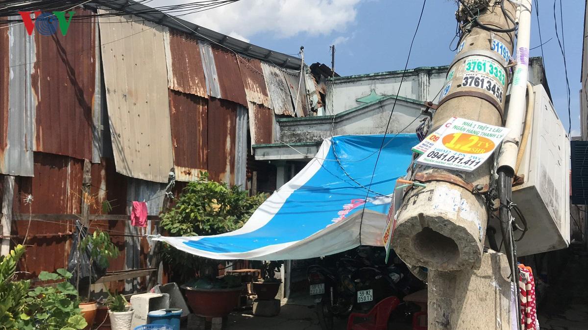 Nguyên nhân ban đầu vụ cần cẩu sập vào nhà dân ở TP HCM Ảnh 6