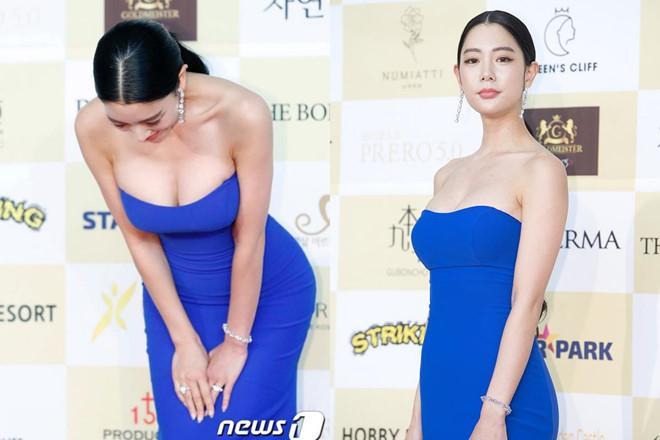 Những lần mỹ nữ Hàn gây bức xúc vì mặc phản cảm Ảnh 7