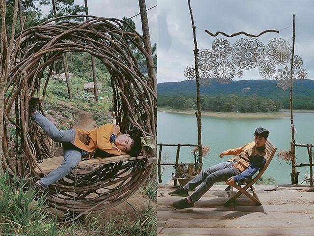 Bộ ảnh 'ngủ gật' của 9x Bình Thuận gây 'bão mạng' vì tư thế tạo dáng khó đỡ Ảnh 4