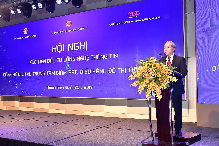 Công bố dịch vụ Trung tâm Giám sát điều hành Đô thị thông minh tỉnh Thừa Thiên - Huế Ảnh 2