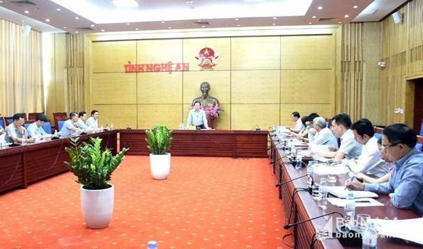 Chuẩn bị chu đáo hội nghị tổng kết 10 năm xây dựng nông thôn mới vùng tại Nghệ An Ảnh 1