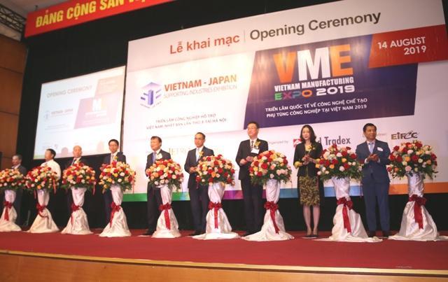 20 quốc gia tham dự Triển lãm Công nghiệp hỗ trợ Việt Nam - Nhật Bản Ảnh 1