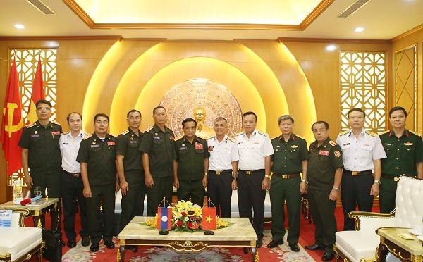 Bộ Tư lệnh Hải quân tiếp đoàn Cục Bảo vệ nội bộ Quân đội Lào Ảnh 2