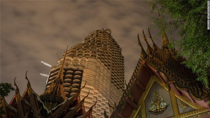 Lạnh gáy với 'Tòa tháp ma' chọc trời giữa lòng Bangkok Ảnh 4