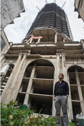 Lạnh gáy với 'Tòa tháp ma' chọc trời giữa lòng Bangkok Ảnh 11