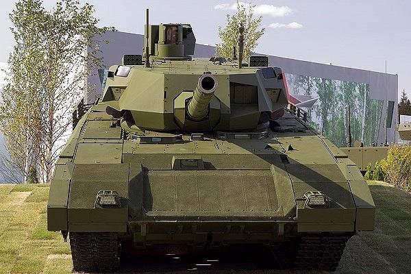 Hé lộ tốc độ kinh hoàng của siêu tăng T-14 Armata Ảnh 1