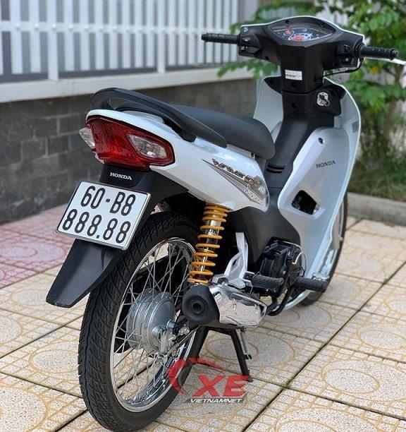 Cận cảnh xe máy Honda Wave cũ rao bán 145 triệu đồng Ảnh 6