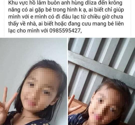 Bé gái 9 tuổi tử vong dưới hồ nước với nhiều dấu vết bất thường Ảnh 1