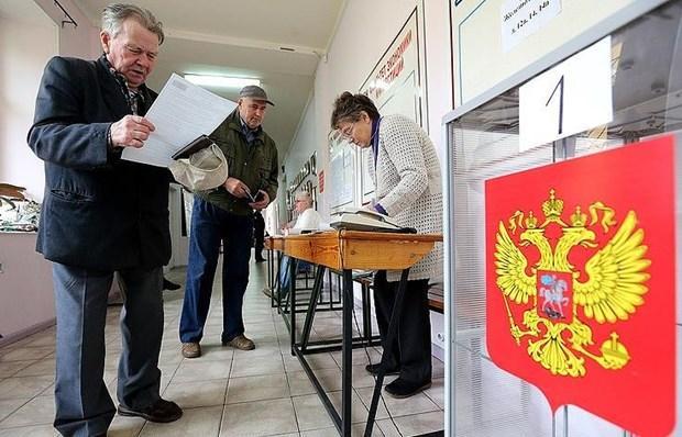 Cử tri Nga đã bắt đầu bỏ phiếu trong cuộc bầu cử địa phương Ảnh 1
