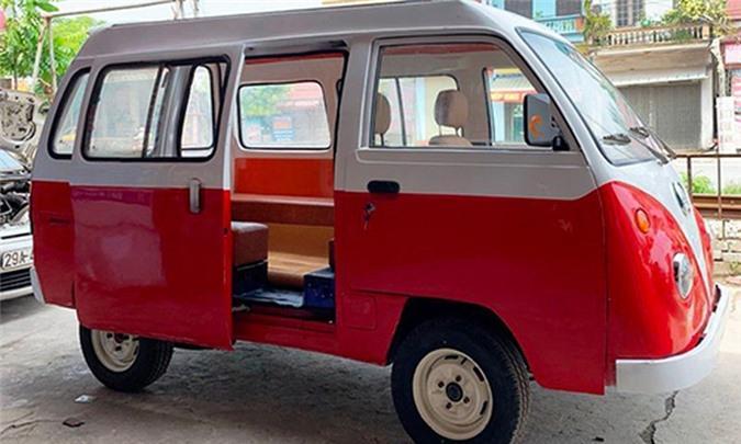 Nam sinh cấp 3 lắp ráp ôtô điện dáng Volkswagen ở Nam Định Ảnh 3