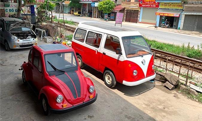 Nam sinh cấp 3 lắp ráp ôtô điện dáng Volkswagen ở Nam Định Ảnh 2