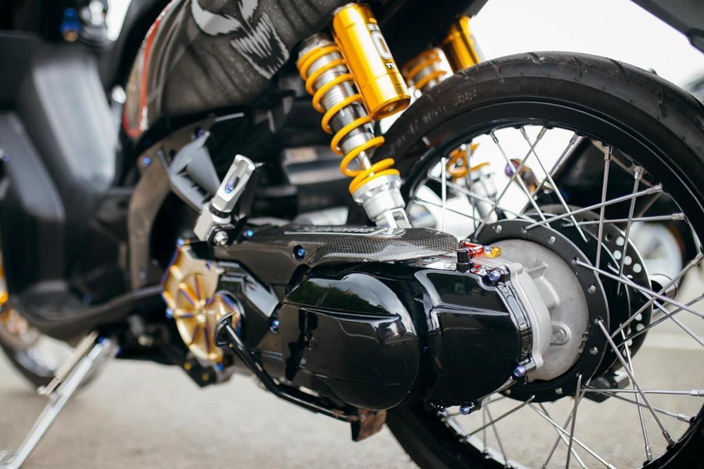 Biker Khánh Hòa chi 500 triệu độ lại Yamaha Nouvo Ảnh 4