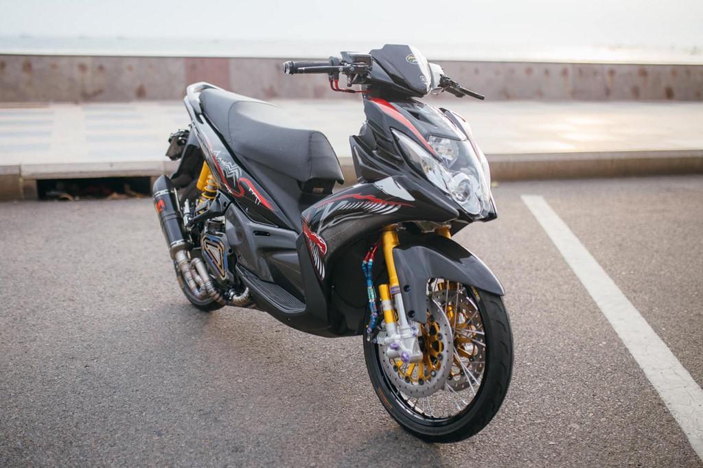 Biker Khánh Hòa chi 500 triệu độ lại Yamaha Nouvo Ảnh 1