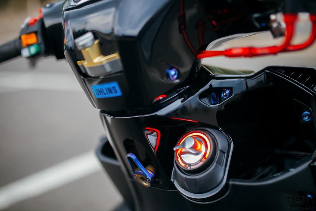 Biker Khánh Hòa chi 500 triệu độ lại Yamaha Nouvo Ảnh 9