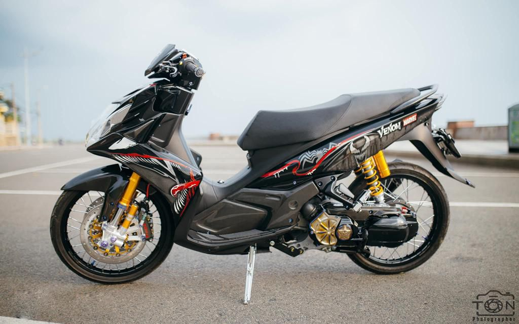 Biker Khánh Hòa chi 500 triệu độ lại Yamaha Nouvo Ảnh 2