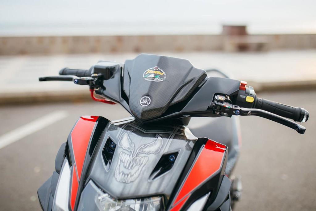 Biker Khánh Hòa chi 500 triệu độ lại Yamaha Nouvo Ảnh 3