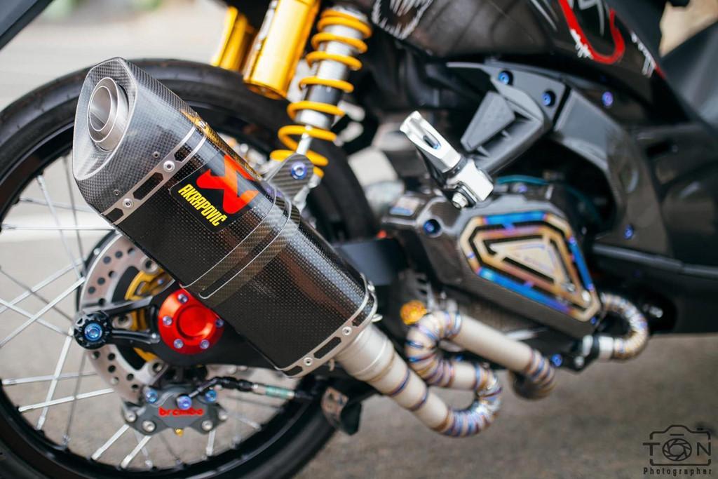 Biker Khánh Hòa chi 500 triệu độ lại Yamaha Nouvo Ảnh 11