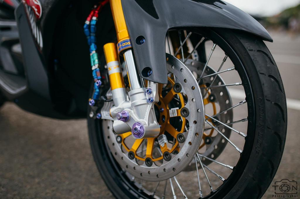 Biker Khánh Hòa chi 500 triệu độ lại Yamaha Nouvo Ảnh 5