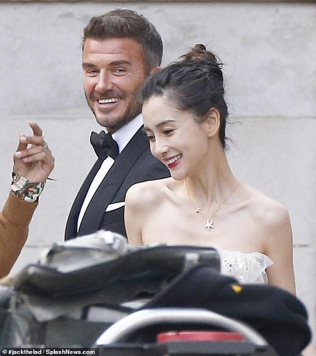 David Beckham bất ngờ trở thành 'chú rể' của Angela Baby Ảnh 2