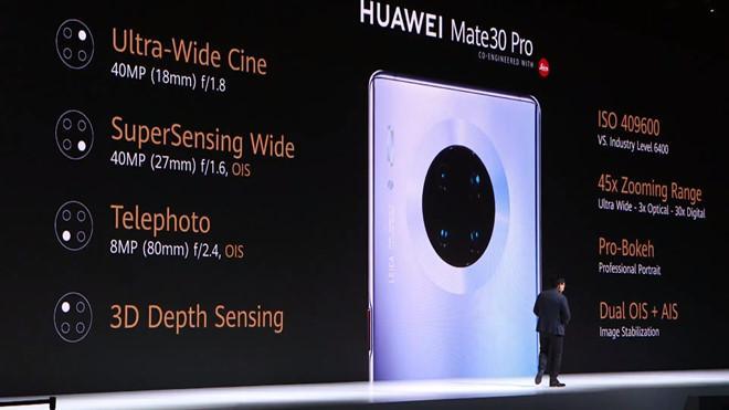 Huawei Mate 30 Pro ra mắt - 4 camera, sạc siêu tốc, giá 1.216 USD Ảnh 4