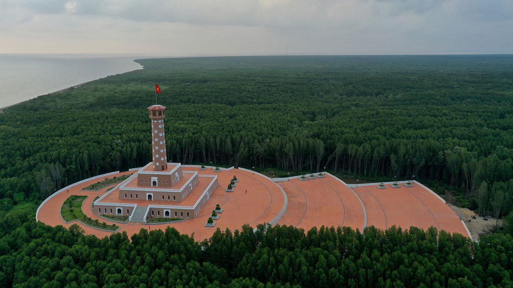 Đất mũi Cà Mau xanh mướt từ từ flycam: Nơi đất biết nở, nơi rừng biết đi Ảnh 2