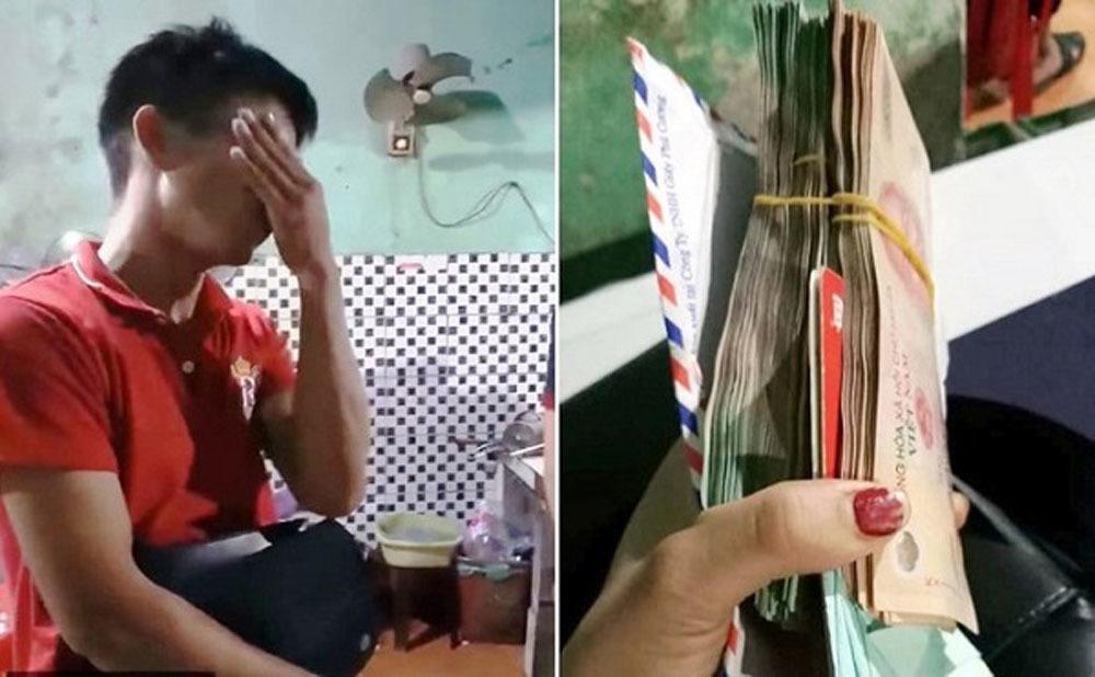 Chàng trai òa khóc khi được trả 200 triệu đồng bỏ quên trong quán ăn Ảnh 3