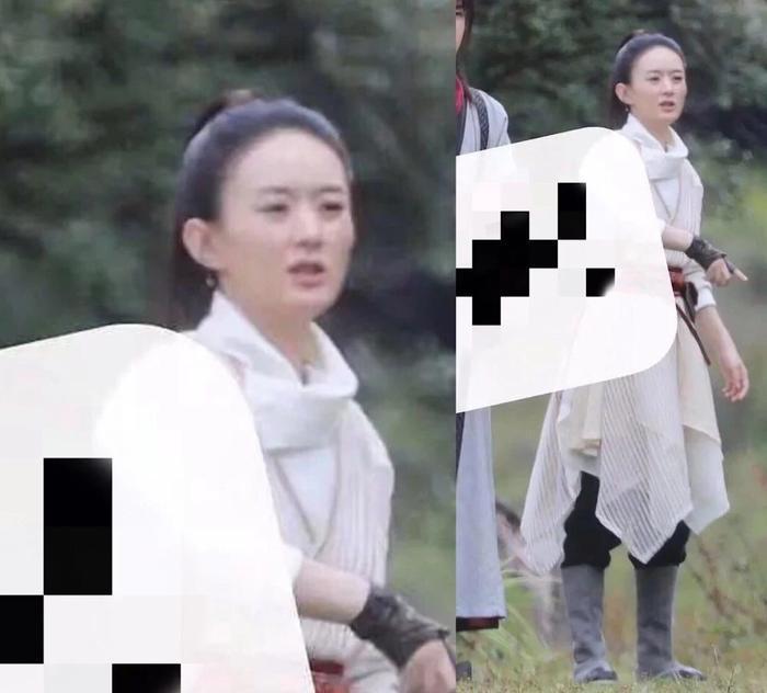 Triệu Lệ Dĩnh bị dân mạng Trung chê già và kém sắc khi sánh vai với đàn em Trương Huệ Văn trong 'Hữu phỉ' Ảnh 3