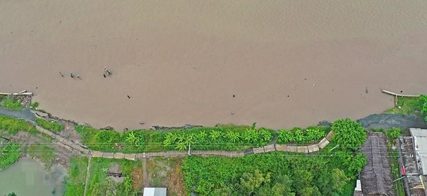 Những hình ảnh cho thấy nguy cơ sạt lở 'bủa vây' bán đảo Cà Mau Ảnh 8