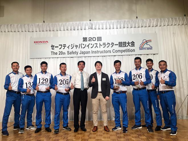 Honda Việt Nam giành chiến thắng cuộc thi lái xe an toàn tại Nhật Bản Ảnh 1